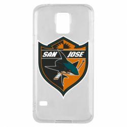 Чохол для Samsung S5 San Jose Sharks