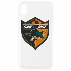 Чохол для iPhone XR San Jose Sharks
