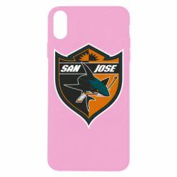Чохол для iPhone Xs Max San Jose Sharks