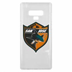 Чохол для Samsung Note 9 San Jose Sharks