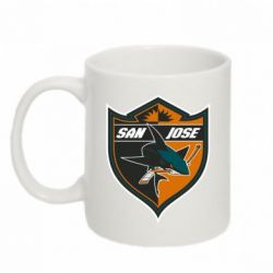 Кружка 320ml San Jose Sharks - FatLine