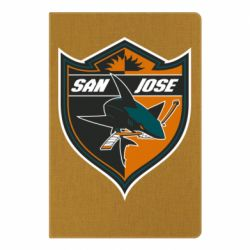 Блокнот А5 San Jose Sharks