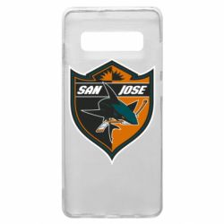 Чохол для Samsung S10+ San Jose Sharks
