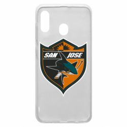 Чохол для Samsung A20 San Jose Sharks