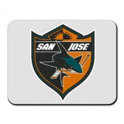 Коврик для мыши San Jose Sharks