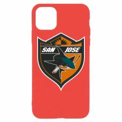Чохол для iPhone 11 Pro Max San Jose Sharks
