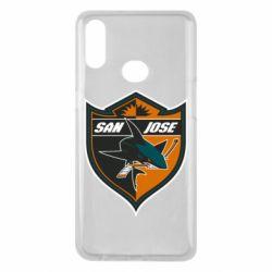 Чохол для Samsung A10s San Jose Sharks