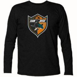Футболка с длинным рукавом San Jose Sharks - FatLine
