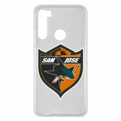 Чохол для Xiaomi Redmi Note 8 San Jose Sharks