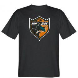 Мужская футболка San Jose Sharks - FatLine
