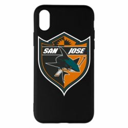 Чохол для iPhone X/Xs San Jose Sharks