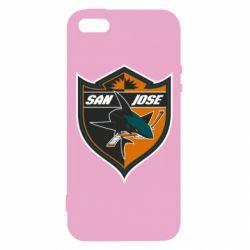 Чохол для iphone 5/5S/SE San Jose Sharks