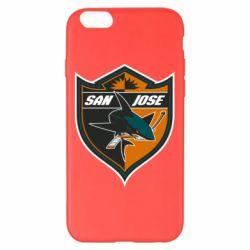 Чохол для iPhone 6 Plus/6S Plus San Jose Sharks