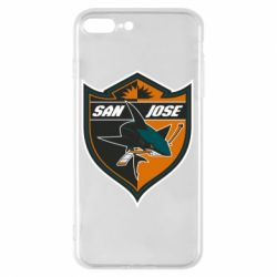 Чохол для iPhone 8 Plus San Jose Sharks