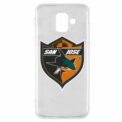 Чохол для Samsung A6 2018 San Jose Sharks