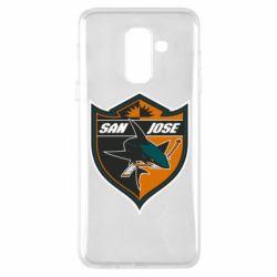 Чохол для Samsung A6+ 2018 San Jose Sharks