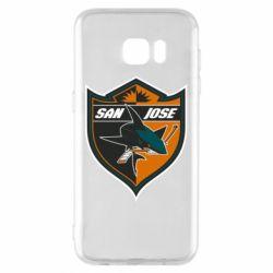 Чохол для Samsung S7 EDGE San Jose Sharks
