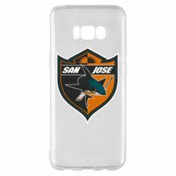 Чохол для Samsung S8+ San Jose Sharks