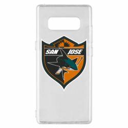 Чохол для Samsung Note 8 San Jose Sharks