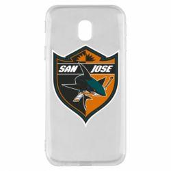 Чохол для Samsung J3 2017 San Jose Sharks