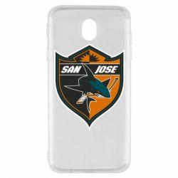 Чохол для Samsung J7 2017 San Jose Sharks