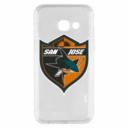 Чохол для Samsung A3 2017 San Jose Sharks