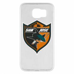 Чохол для Samsung S6 San Jose Sharks