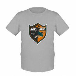 Детская футболка San Jose Sharks - FatLine