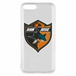 Чохол для Xiaomi Mi6 San Jose Sharks