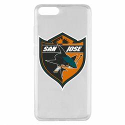 Чохол для Xiaomi Mi Note 3 San Jose Sharks