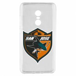 Чохол для Xiaomi Redmi Note 4 San Jose Sharks
