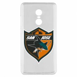 Чохол для Xiaomi Redmi Note 4x San Jose Sharks