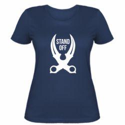 Женская футболка Sandoff Knife