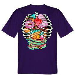 Чоловіча футболка Сandy inside the skeleton