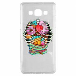 Чохол для Samsung A5 2015 Сandy inside the skeleton