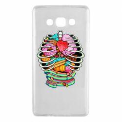 Чохол для Samsung A7 2015 Сandy inside the skeleton