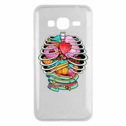Чохол для Samsung J3 2016 Сandy inside the skeleton