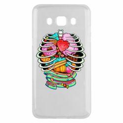Чохол для Samsung J5 2016 Сandy inside the skeleton