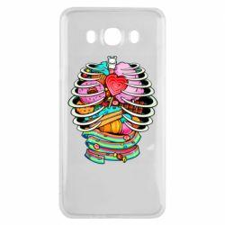 Чохол для Samsung J7 2016 Сandy inside the skeleton