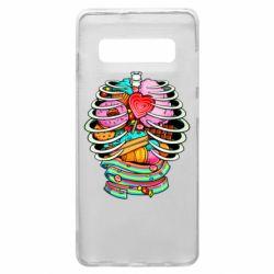 Чохол для Samsung S10+ Сandy inside the skeleton