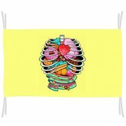 Прапор Сandy inside the skeleton