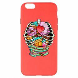 Чохол для iPhone 6 Plus/6S Plus Сandy inside the skeleton