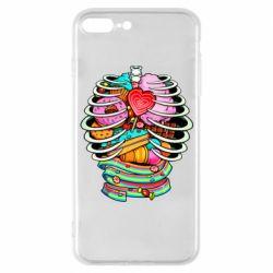 Чохол для iPhone 7 Plus Сandy inside the skeleton