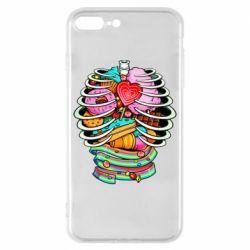 Чохол для iPhone 8 Plus Сandy inside the skeleton