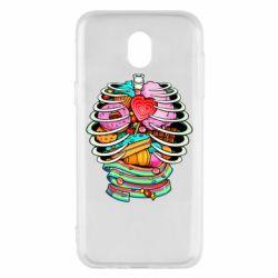Чохол для Samsung J5 2017 Сandy inside the skeleton