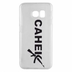Чехол для Samsung S6 EDGE Санек