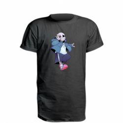 Подовжена футболка Sans smile
