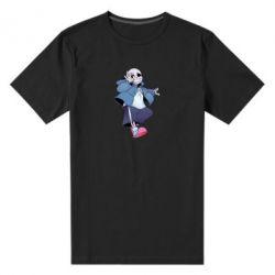 Чоловіча стрейчева футболка Sans smile