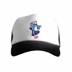Дитяча кепка-тракер Sans smile