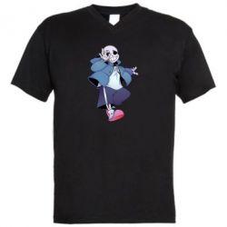 Чоловіча футболка з V-подібним вирізом Sans smile